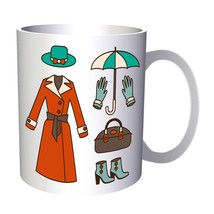 Jacket with other clothes autumn 11oz Mug g942 - $14.48 CAD