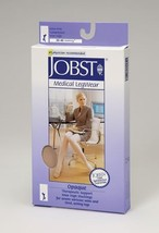 Jobst Opaque Knee High 30-40 - Small - Silky Beige - $65.92