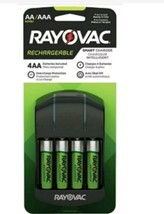 Rayovac Recharge 4 Position AA AAA Rechargeable Battery Charger 4 AA Included - $11.49