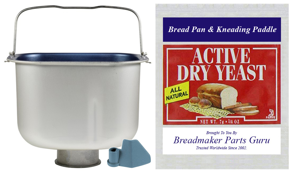 Primary image for Bread Pan Fits Oster 3-Rivet Model 5838-026 SEE PICS ExpressBake Breadmaker New
