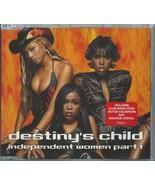 DESTINY'S CHILD - INDEPENDENT WOMEN PART I / (REMIXES) 2000 UK 3 TRACK C... - $3.92