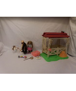 Lanard Triple Crown Beauties Champion Horse Stable + Horse + Doll + Acce... - $31.02