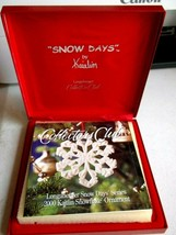 Longaberger Collectors Club Snow Days by Kaitlin 2000 Christmas Ornament - $10.94