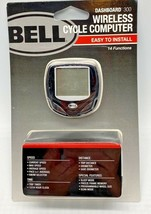 Bicycle Speedometer Wireless Dashboard 300 by Bell 14 Functions easy ins... - $12.86