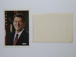 President Ronald Reagan Vtg President Reagan Campaign NCPAC Greeting Car... - $49.45