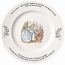Wedgwood Peter Rabbit Original Cake Plate 25cm New Made in England - $59.39