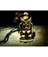 Haunted Amulet of Demon WESSUWAN Ghost Killer Bestower Of Wealth by izida - $222.00