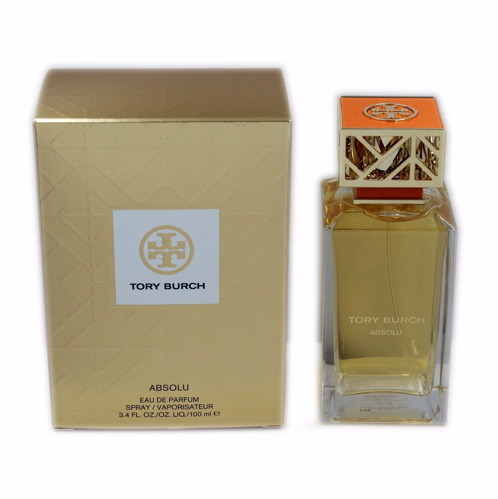 Primary image for TORY BURCH ABSOLU EAU DE PARFUM SPRAY 100 ML/3.4 FL.OZ. NIB-5H3P-01