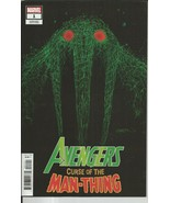 Avengers Curse Of The Man-Thing #1 2021 Marvel Comics Patrick Gleason  - $14.84
