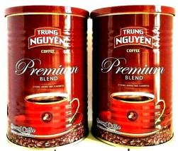 Trung Nguyen Premium Blend Ground Coffee 15 oz (Pack of 2) - $28.70