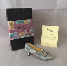 Just The Right Shoe by Raine collectible Lavish Tapestry 25087 in box COA - $3.00