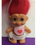 "Russ Baby Troll 2"" Figure Standing Valentine's Day Heart Bib and Diaper ... - $12.19"