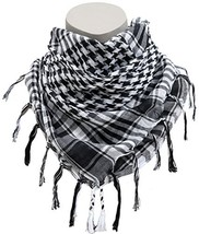 Dhana Style Afgan Stole Military Shemagh Scarves Tactical Shemagh (WHITE... - $9.93