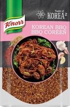 Knorr Taste of Korea Korean BBQ Seasoning Blend 5 bags x 70g each Canada - $59.99