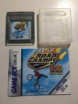 Road Champs Nintendo Game Boy Color Vintage 1998 Game Cartridge Case Manual - $9.89