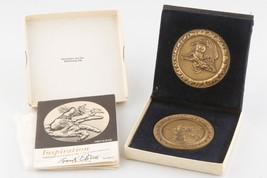 "1974 Medallic Art Company ""Inspiration"" Multi-Part Frank Eliscu w/ Bonus Medal - $296.01"