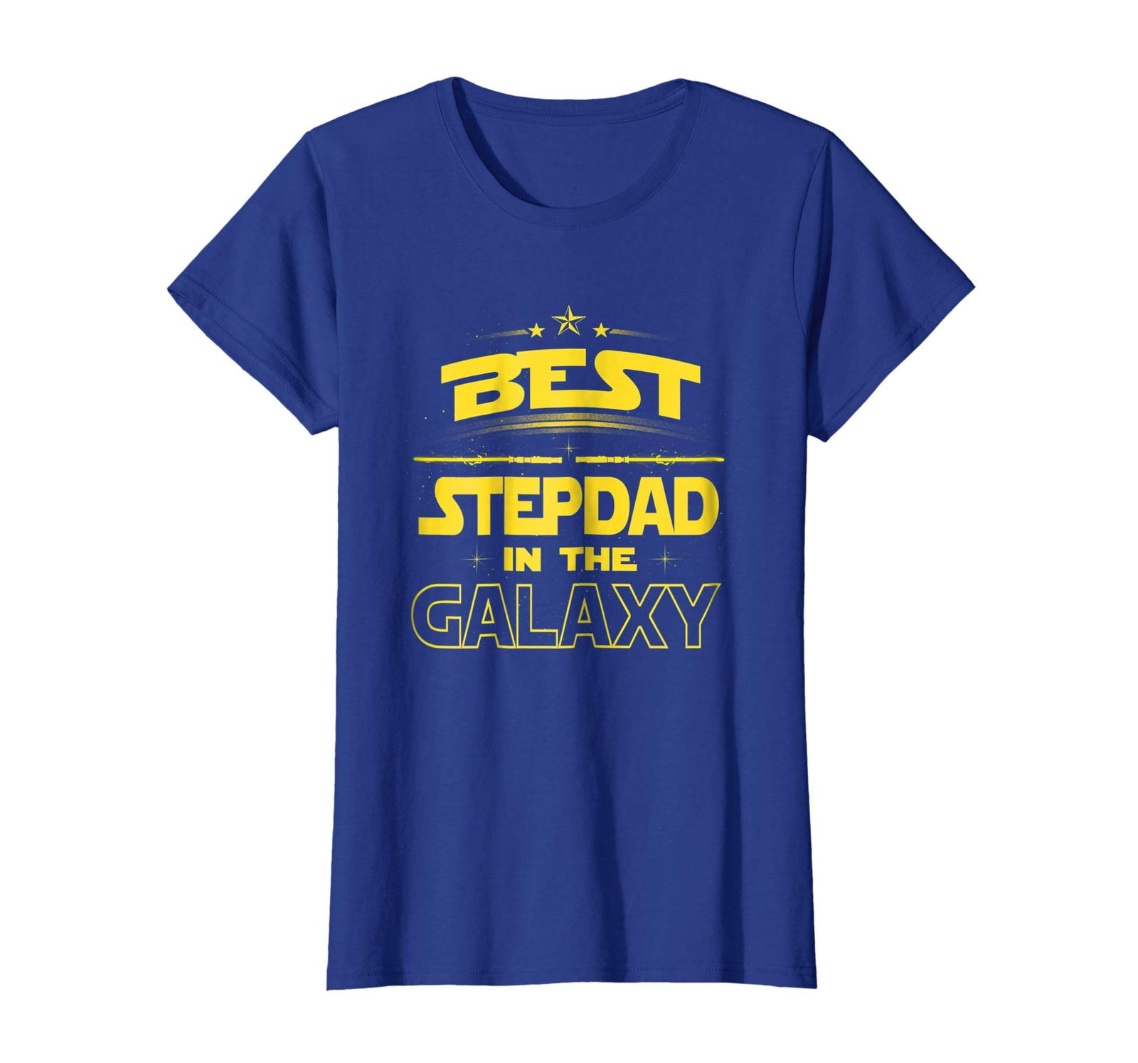 Uncle Shirts -   Best Stepdad in the Galaxy Shirt Fathers Day Gift Step dad Wowe