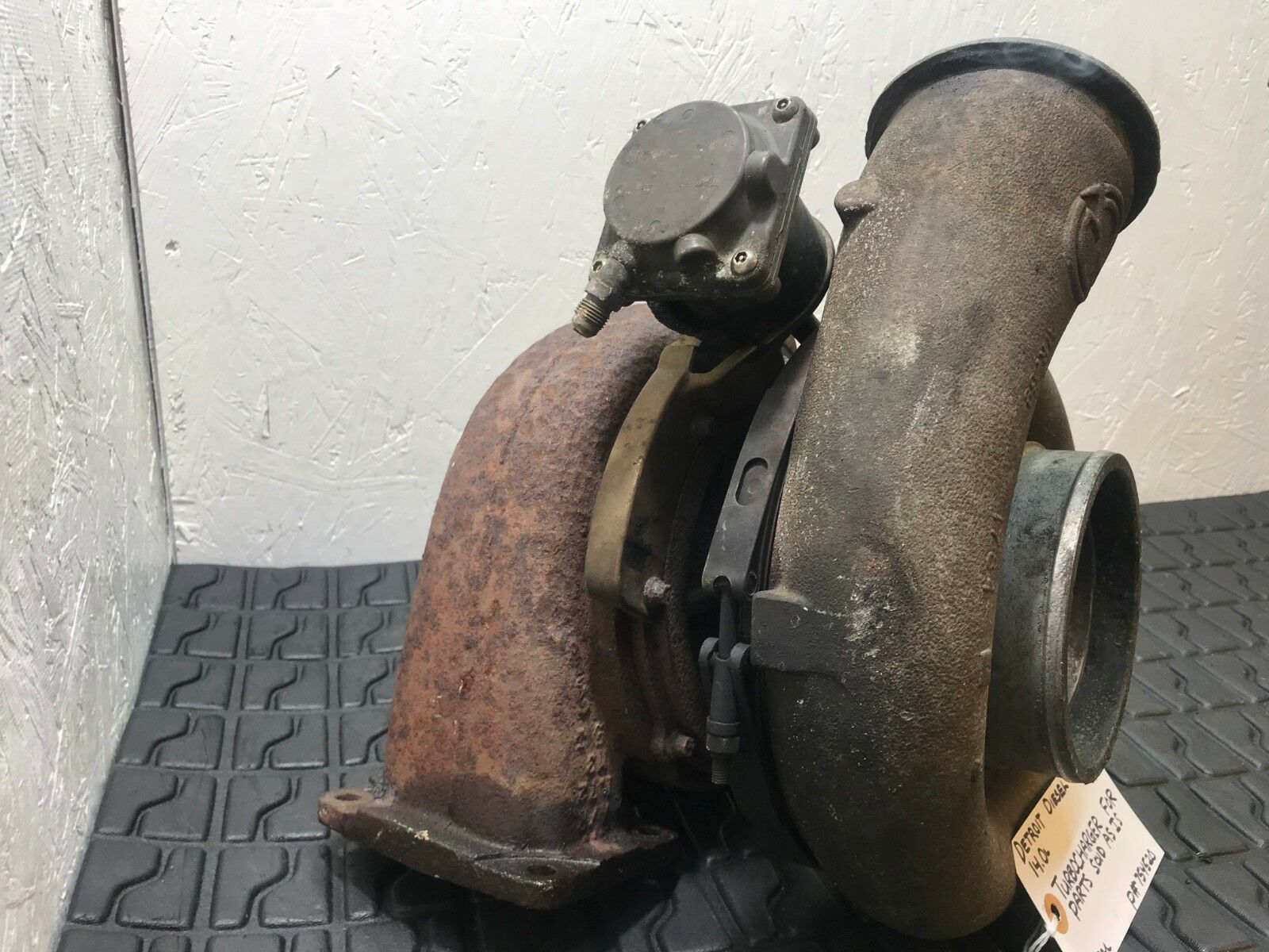 FOR PARTS ONLY Detroit Diesel Series 60 12.7 GARRETT Turbocharger 754520 OEM image 6