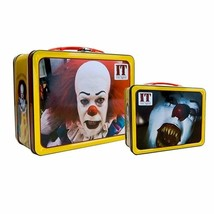 Factory Entertainment Stephen King's It Pennywise The Clown Tin Tote - $27.72