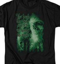Lord of the Rings King of the Dead Do not suffer the living graphic tee LOR3009 image 3