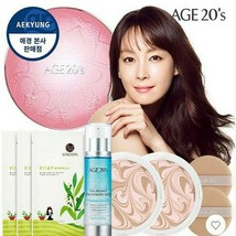 AGE20'S Essence Cover Pact Original Line Fact Case+Refill 2ea(Built-in 2 puffs) - $48.95