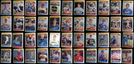 1986 Fleer Baseball Best Sluggers Vs Pitchers Baseball Cards You Pick From List - $1.00+