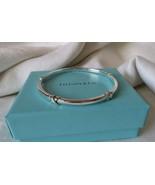 Tiffany & Co. Sterling Silver Signature X Bangle Bracelet~B & P~Retired~... - $240.00