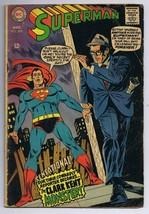 Superman #209 ORIGINAL Vintage 1968 DC Comics Clark Kent Monster - $19.79