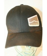 Upslope Brewing Company Black silver logo Flexfit Fitted Dad trucker Cap... - $19.95