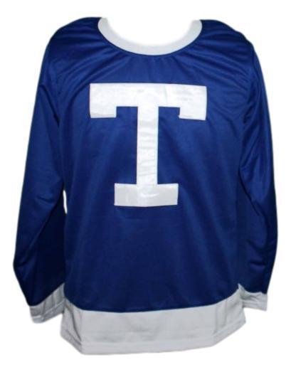 Toronto arenas retro hockey jersey blue  1
