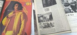 Vtg Heavy Metal Magazine Lot 8 Circus Creem 1982 1983 Van Halen Led Zeppelin image 3