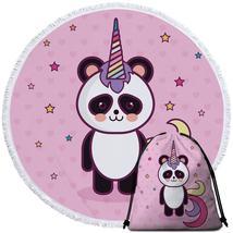 Unicorn Panda Beach Towel - $12.32+