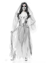 Charades Women's Ghost Bride, as Shown, Large - $82.93