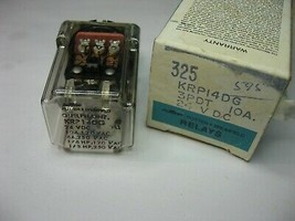 Potter And Brumfield Relay KRP14DG 24VDC Coil 3PDT 10A - Used Qty 1 - $10.44