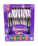 Brach's Santa's Choice Raspberry Candy Canes 12 Count - $8.74