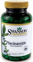 Swanson Niacinamide 250mg 250  Healty  Body Suplement Capsules - $15.31