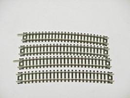 Atlas N Scale Model Train 4p.c. Curved Track No. 2526 - $7.91