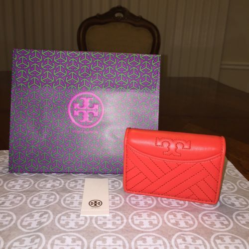 1ee3461be38b NWT Tory Burch Alexa Foldable Mini Wallet in and 50 similar items
