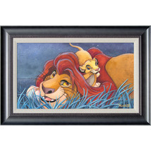 Disney Parks The Lion King Father and Son LE Framed Giclee by St. Laurent New - $1,838.15