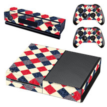 Colorful Squares Decal Xbox one Skin for Xbox Console & 2 Controllers - $15.00