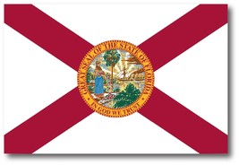Florida US State Flag Heavy Duty Car Truck or Fridge Magnet 4in x 6in - $5.99
