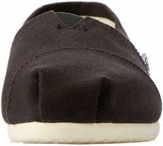 Neu Toms Damen Der Venezien Sammlung Klassisch Schwarz Leinen Schlupf Schuhe image 3