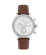 Vince Camuto Watch Jewelry Wristwatch Brown Leather Strap Men's VC/1101WTBN - $38.00