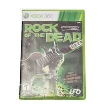 Microsoft Xbox 360 Rock of the Dead  Video Game (Complete, 2010) - $14.50