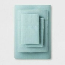 Solid Easy Care Sheet Set (Twin/Twin Extra Long) Aqua - Made By Design -