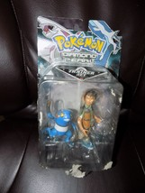 Pokemon Diamond and Pearl Exclusive Collector Trainer Set : BROCK and CR... - $42.33