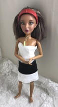 "2009 Spin Master LIV Doll 11 1/2"" with Wig  #00517MPG Articulated Handmade Dress - $18.69"
