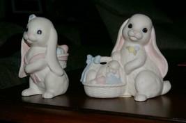 Homco Lovin Bunnies Figurines Rabbits Home Interiors (m) - $16.00