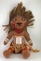 Lion King Simba Plush Disney Stuffed Animal Broadway Musical - $8.99