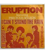 Eruption Featuring Precious Wilson: I Can't Stand the Rain 45 Record Net... - $19.59